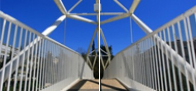 Pedestrian Bridge - Hebron Road