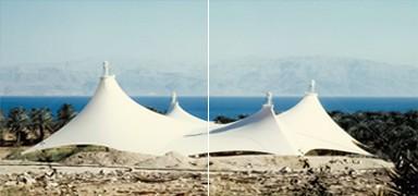 Fabric Tent, Ein-Gedi
