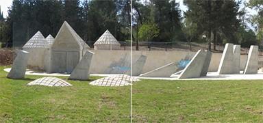 Monument for Ethiopian immigrants - Mount Herzl