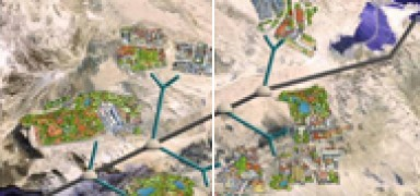 The Red Sea - Dead Sea Canal: The Double Pipe Labaton Solution